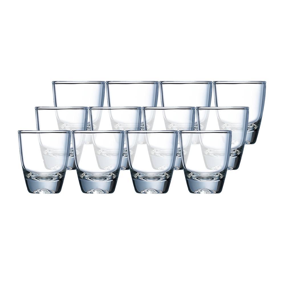 Bộ 12 ly rượu thủy tinh Luminarc Gin Shot 16160 30ml