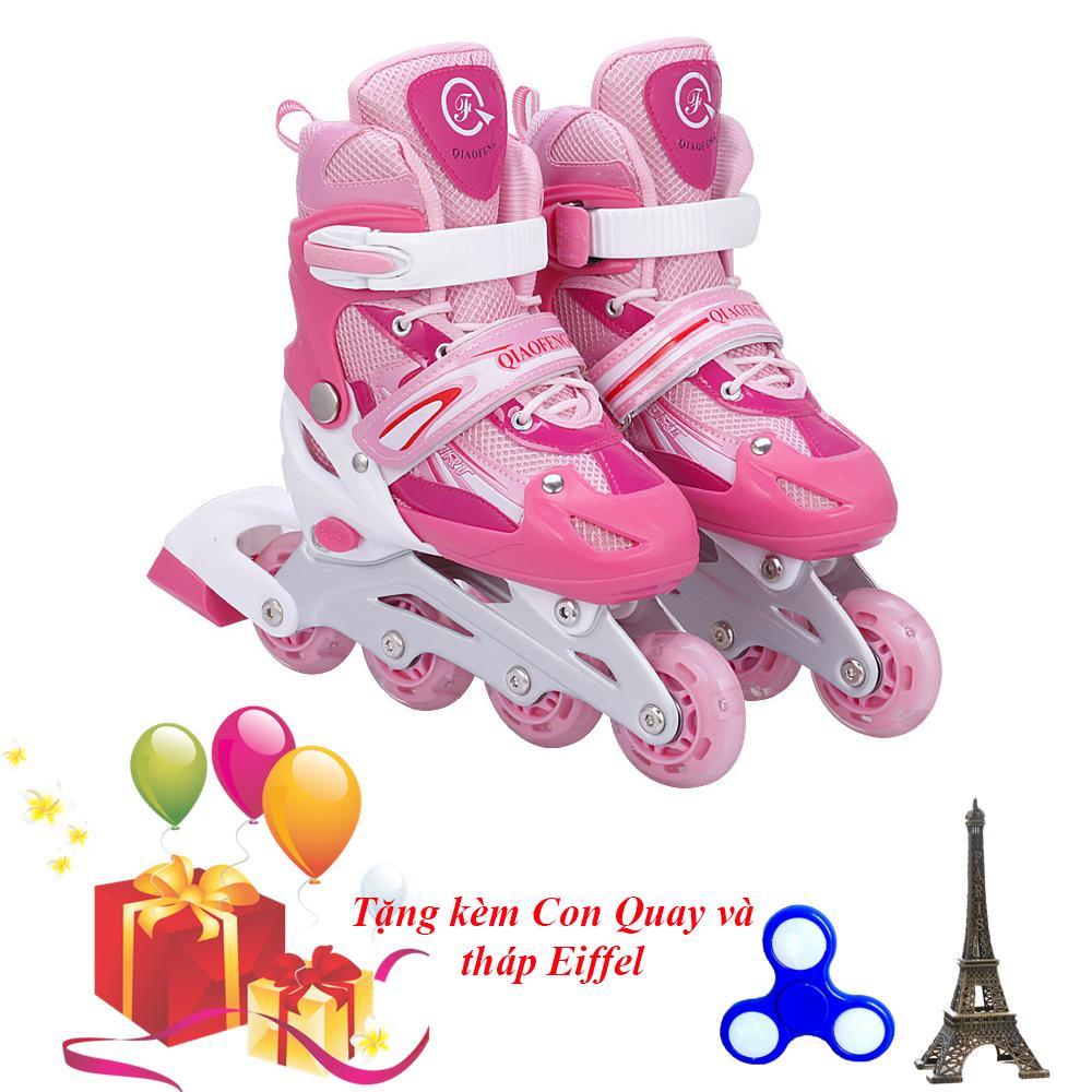 Bán Giay Trượt Patin Gắn Đinh Phat Sang Banh Size M Viva Sport Tặng Con Quay Spinner Thap Eiffel Cao Cấp Trong Hồ Chí Minh