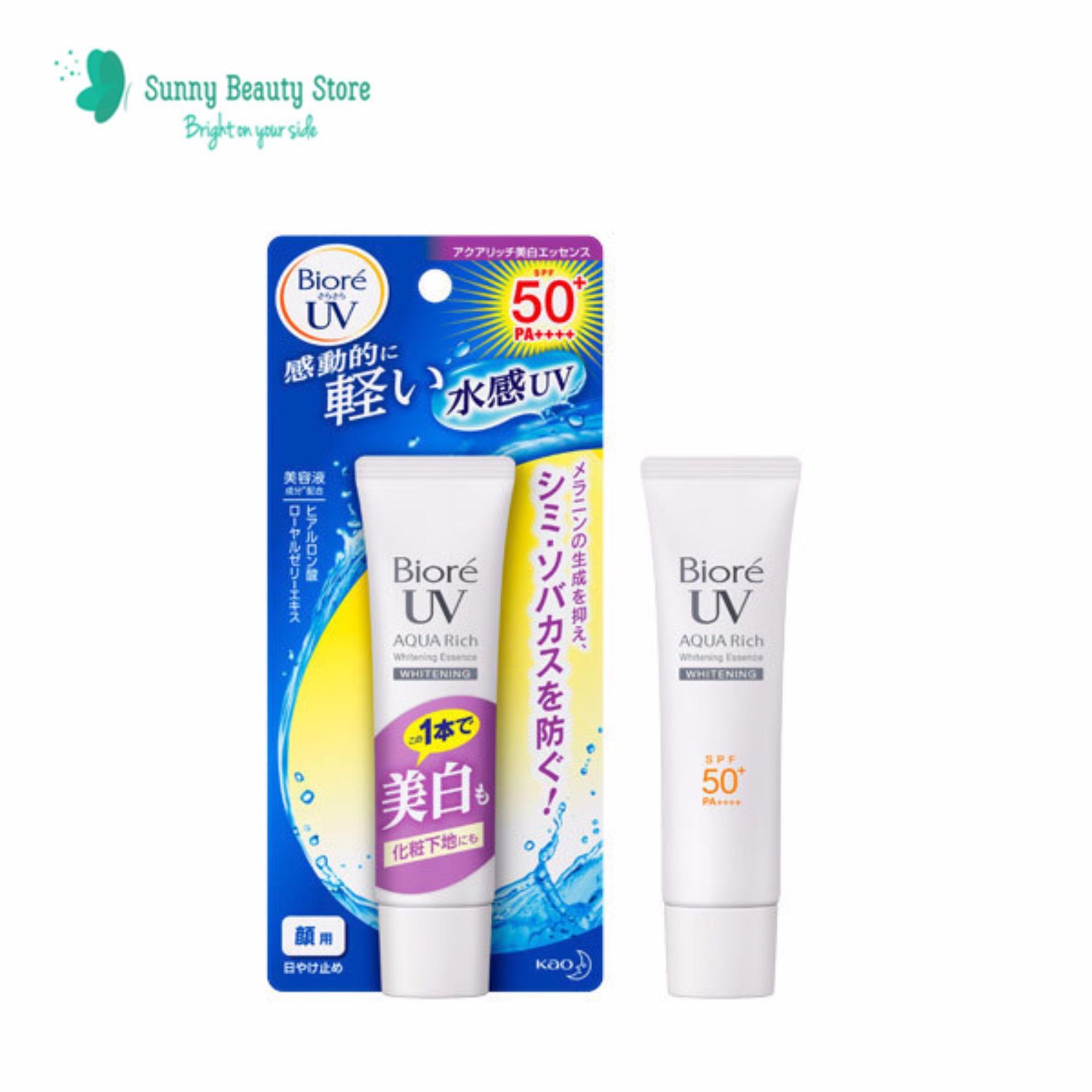 Giá Bán Kem Chống Nắng Dưỡng Trắng Da Biore Uv Aqua Rich Whitening Essence Spf 50 Pa Nhãn Hiệu Oem