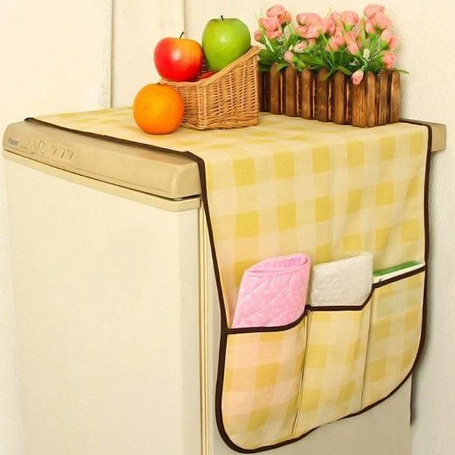 Hình ảnh Tấm phủ tủ lạnh đa năng - Kích thước 148x48cm