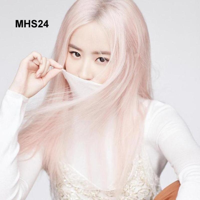 Bộ Tóc Khói Hồng Hàn Quốc MHS24 nhập khẩu