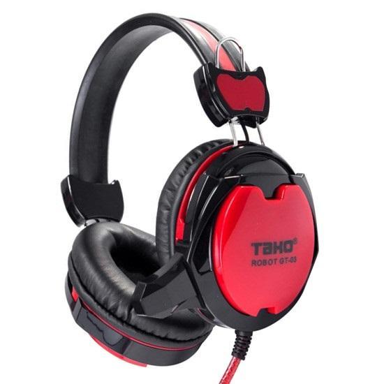 Tai nghe game thủ TAKO ROBOT GT-03 (Đen đỏ)