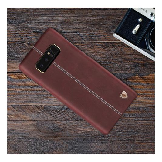 Bán Ốp Lưng Da Thật Cho Galaxy Note 8 Hiệu Nillkin Englon Nillkin Người Bán Sỉ