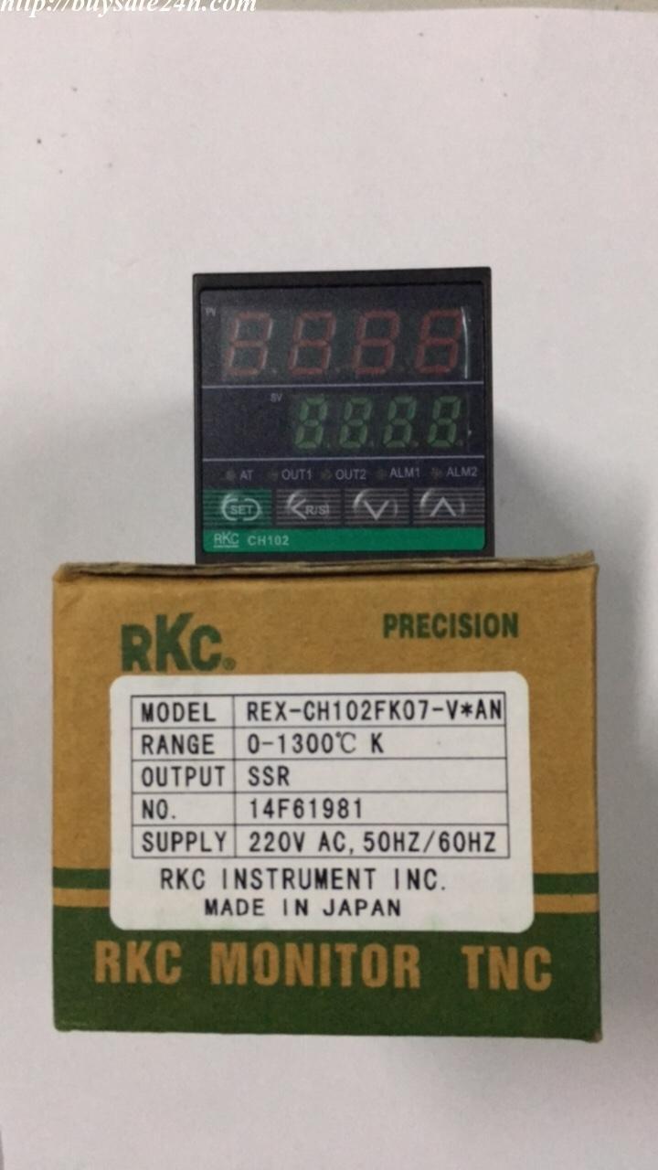 Đồng hồ nhiệt 2 ngõ ra điều khiển CH102