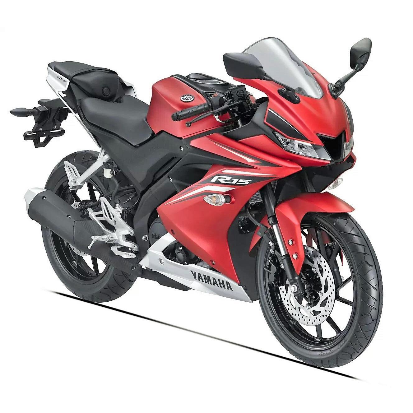 Xe tay côn Yamaha R15 - Đỏ Nhám ( nhập khẩu )