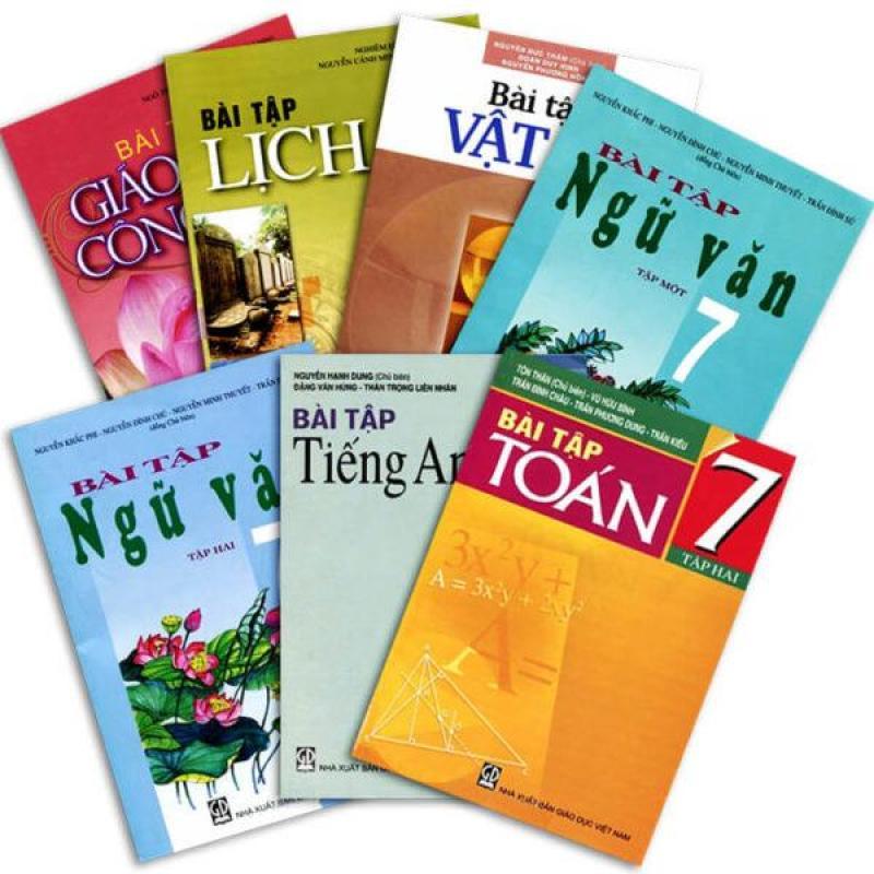 Mua Sách Giáo Khoa Lớp 7 ( Tặng bìa kiếng và dán nhãn )