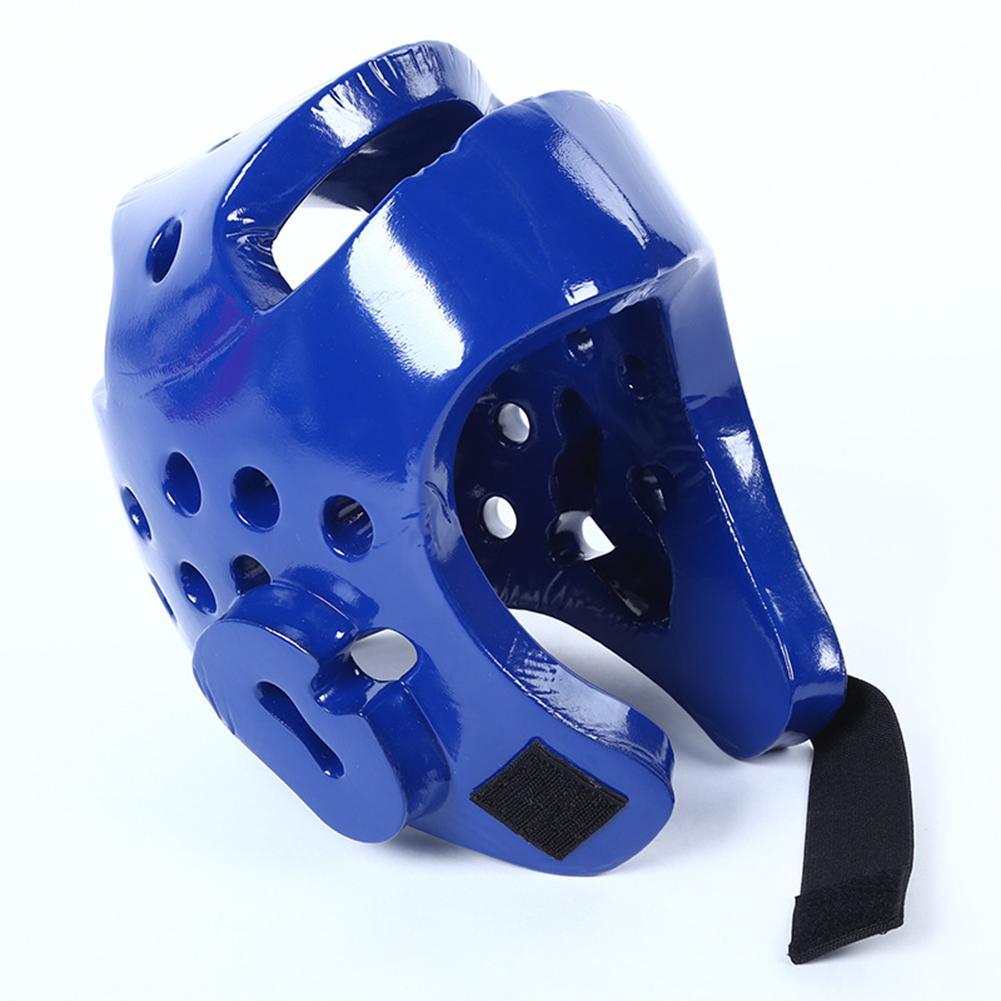 YM Võ thuật Sparring Mũ Bảo Hiểm Karate Sparring Headgear Full-Mặt Quyền Anh Bảo Vệ Hộp Số