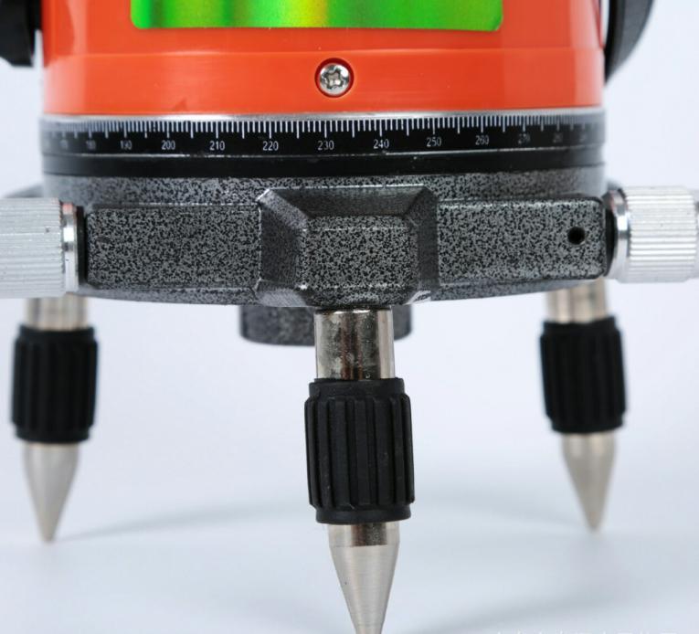 Máy bắn cốt laser 5 tia đỏ tặng kèm chân 1,2m .Độ chính xác: ±1mm/10m  Số lượng tia: 1 tia ngang, 4 tia đứng, 1 tia dọi tâm Phạm vi làm việc: 50m,