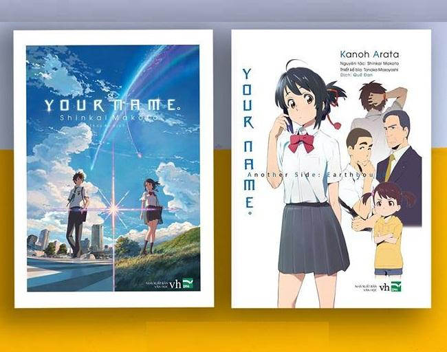 Mua Sách - Combo Your name bản light novel