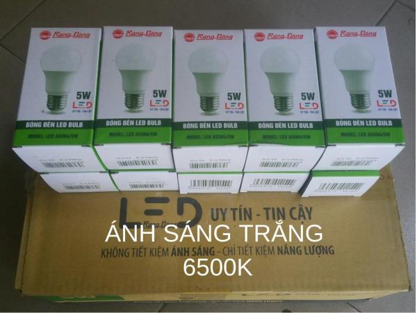 Bộ 10 bóng đèn LED TRÒN 5W RẠNG ĐÔNG