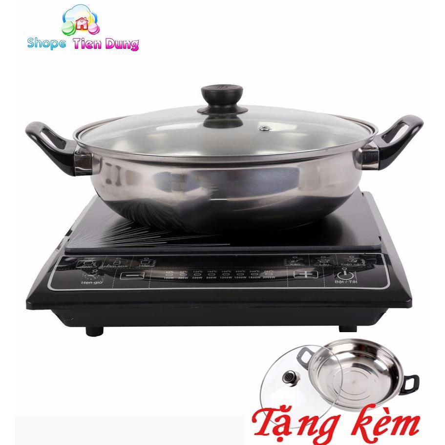 Hình ảnh mua bếp từ loại nào tốt - Bếp điện từ cơ cao cấp, tiện dụng 2000W, Chất lượng cao, Chế độ nấu thông minh, BH bởi Shope Tien Dung