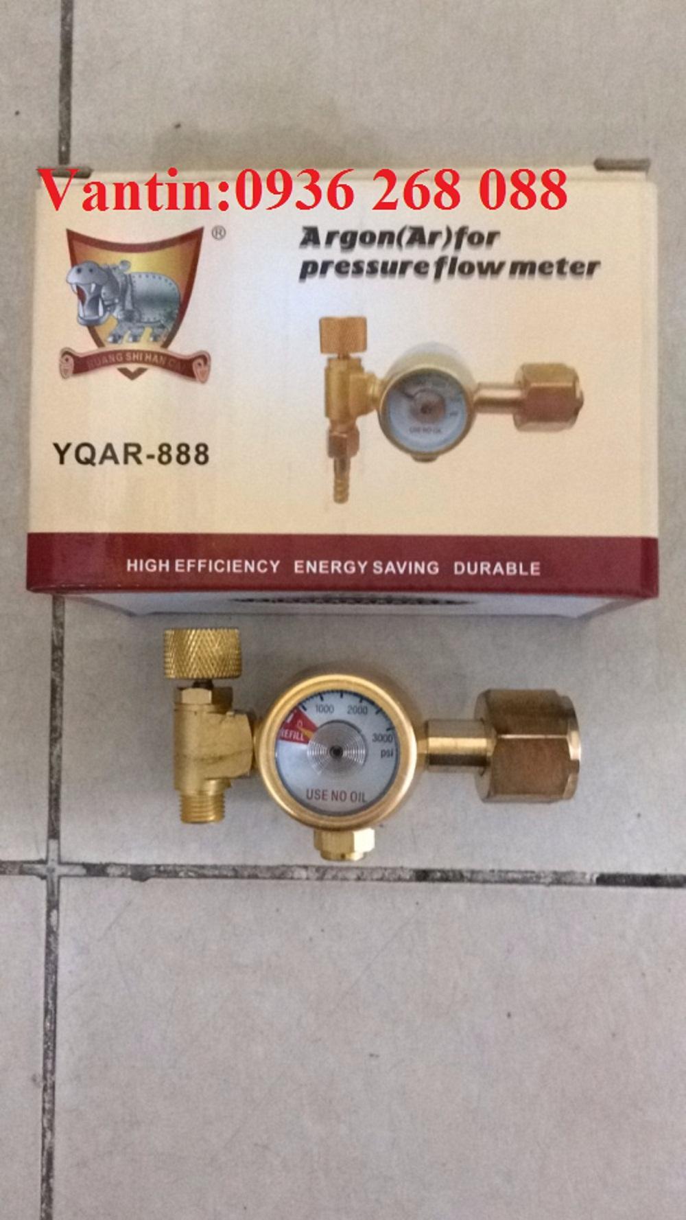 Đồng hồ tiết kiệm khí Argon bằng đồng