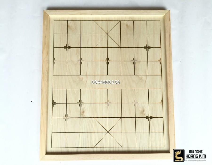 Hình ảnh Bàn Cờ Tướng gỗ thông 50cm