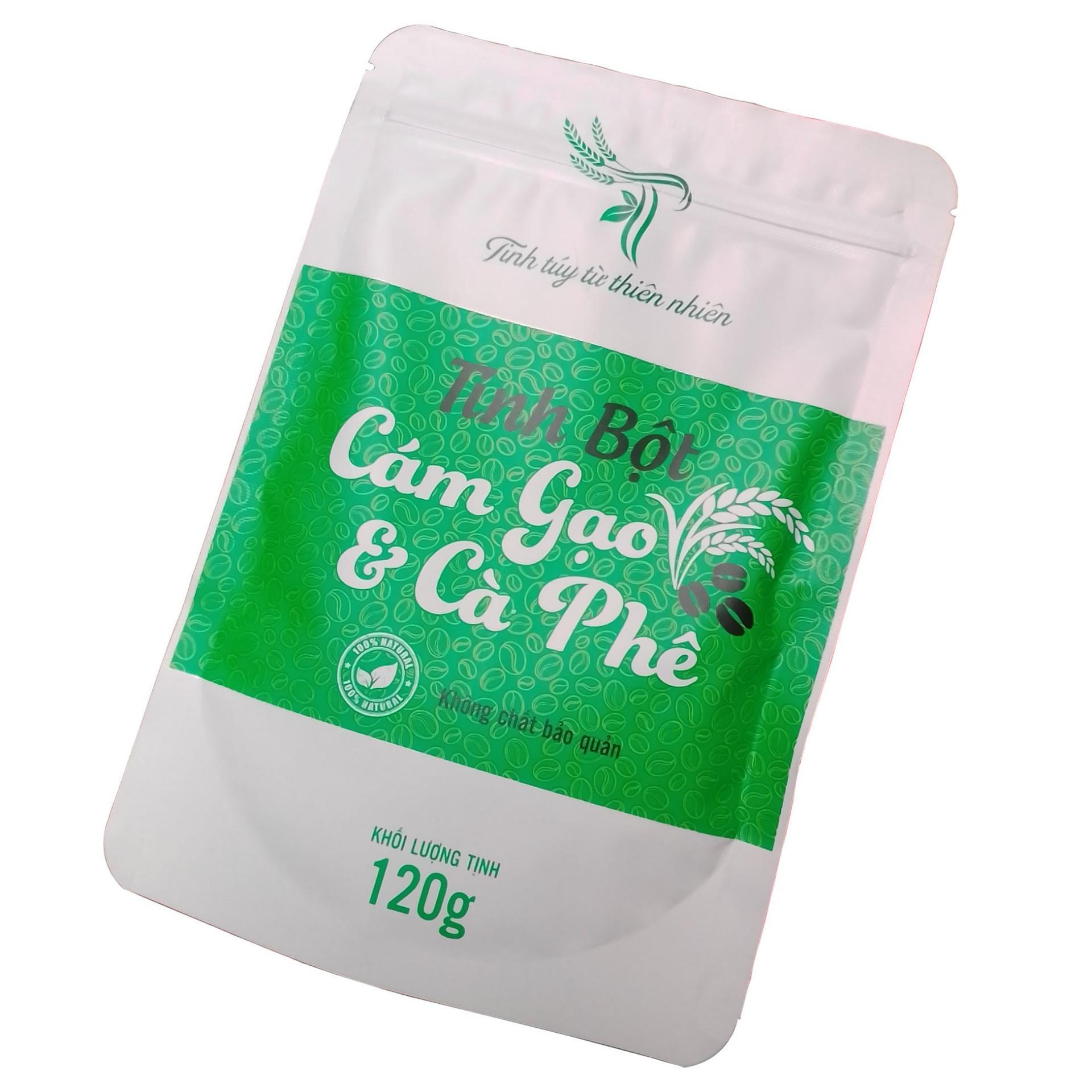 Cám gạo cà phê dùng để tắm trắng