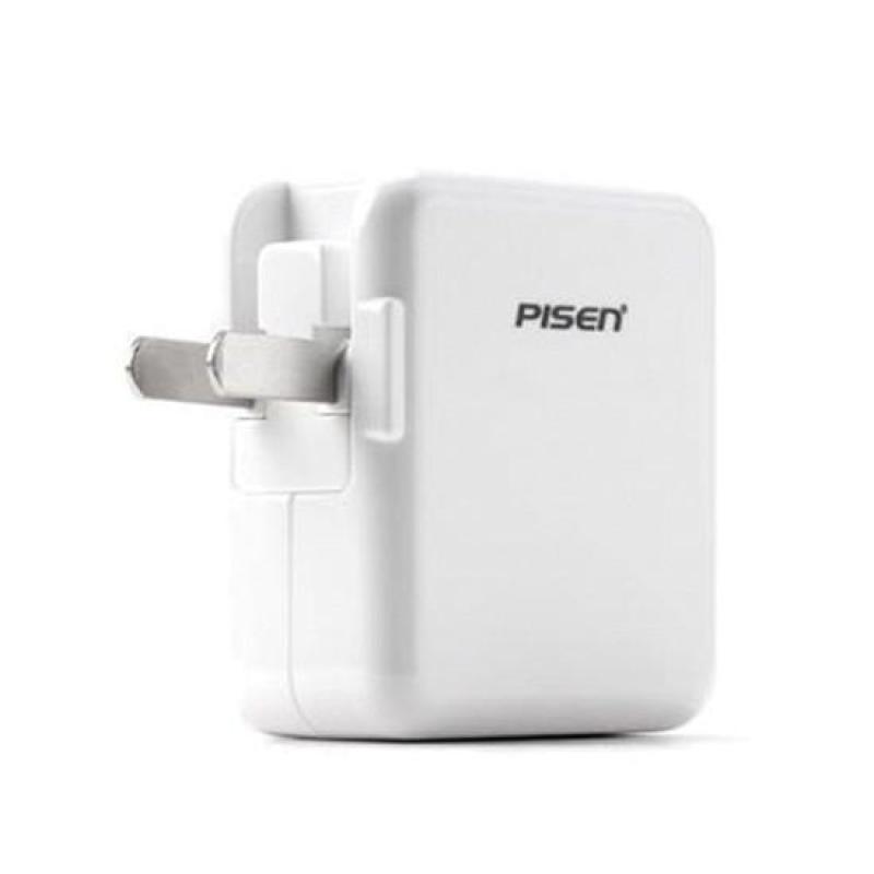 Củ cốc sạc iPad Mini 1/ 2/ 3/ 4 Pisen 5V- 2A - Hàng nhập khẩu
