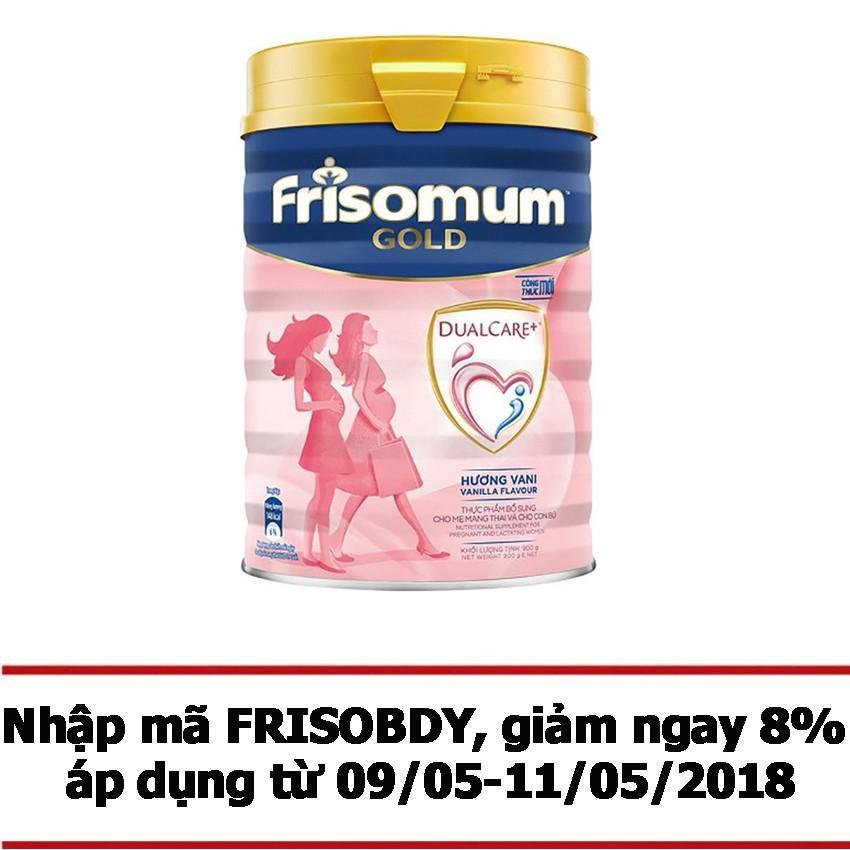 Cửa Hàng Sữa Bột Frisomum Gold Hương Vani 900G Rẻ Nhất
