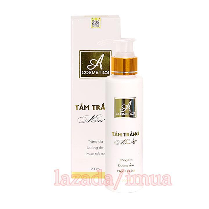 Kem dưỡng trắng da body mềm A Cosmetics giúp dưỡng trắng da toàn thân