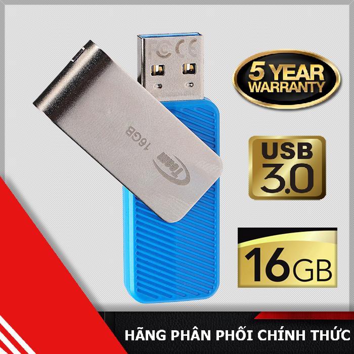 Chiết Khấu Usb 3 16Gb Team Group C143 Xanh Hang Phan Phối Chinh Thức Hồ Chí Minh