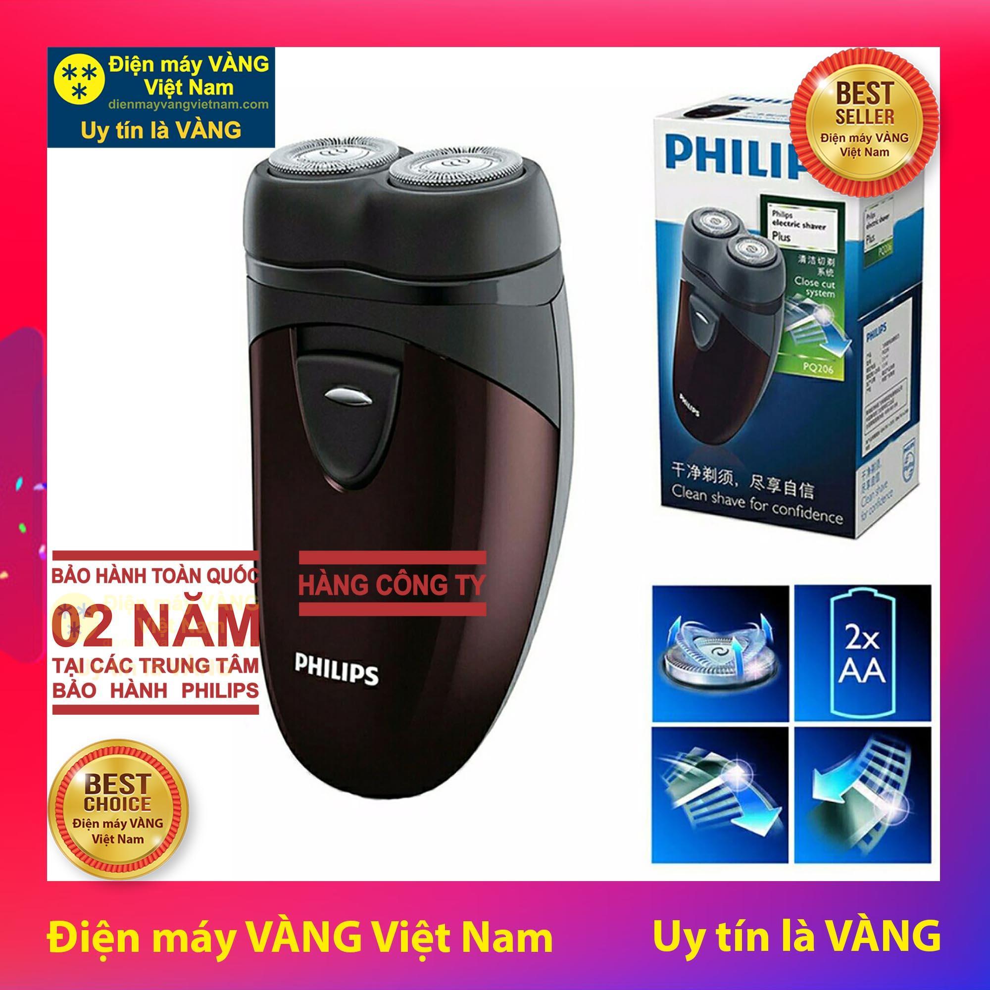 Máy Cạo Râu Du Lịch Philips Pq206 - Hàng công ty
