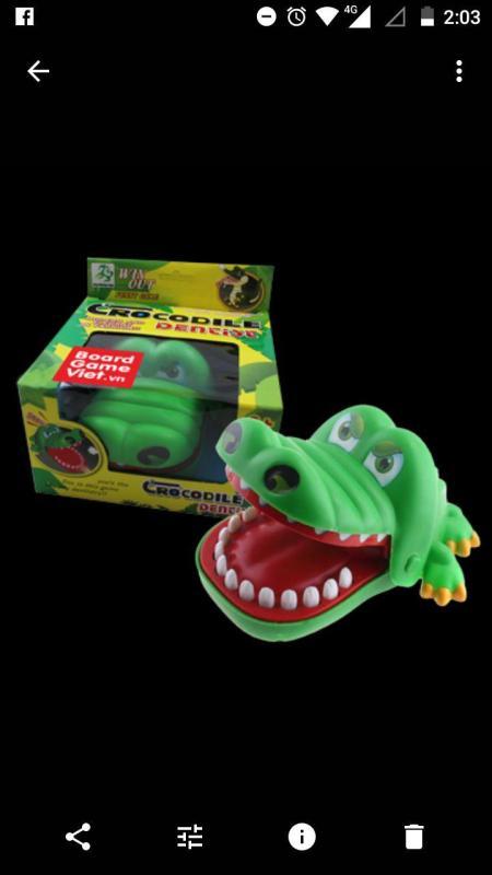 Chọc Cá sấu