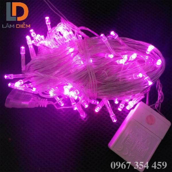 Đèn LED trang trí dây chớp 5m điện vào 220V, lõi dây đồng, nhôm, vỏ bóng đèn nhựa, tuổi thọ bóng đèn 20.000h