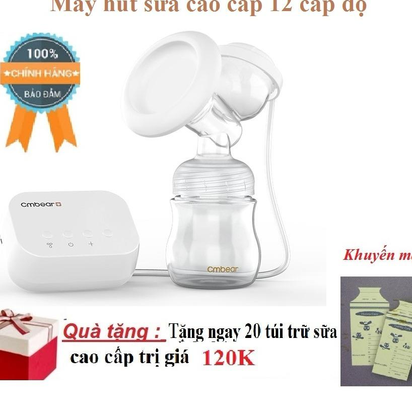 Ôn Tập May Hut Sữa Điện Đoi 12 Cấp Độ Co Maxa Silicon Nguồn Điện Bằng Usb Tặng Kem Tui Trữ Sữa Honey Care