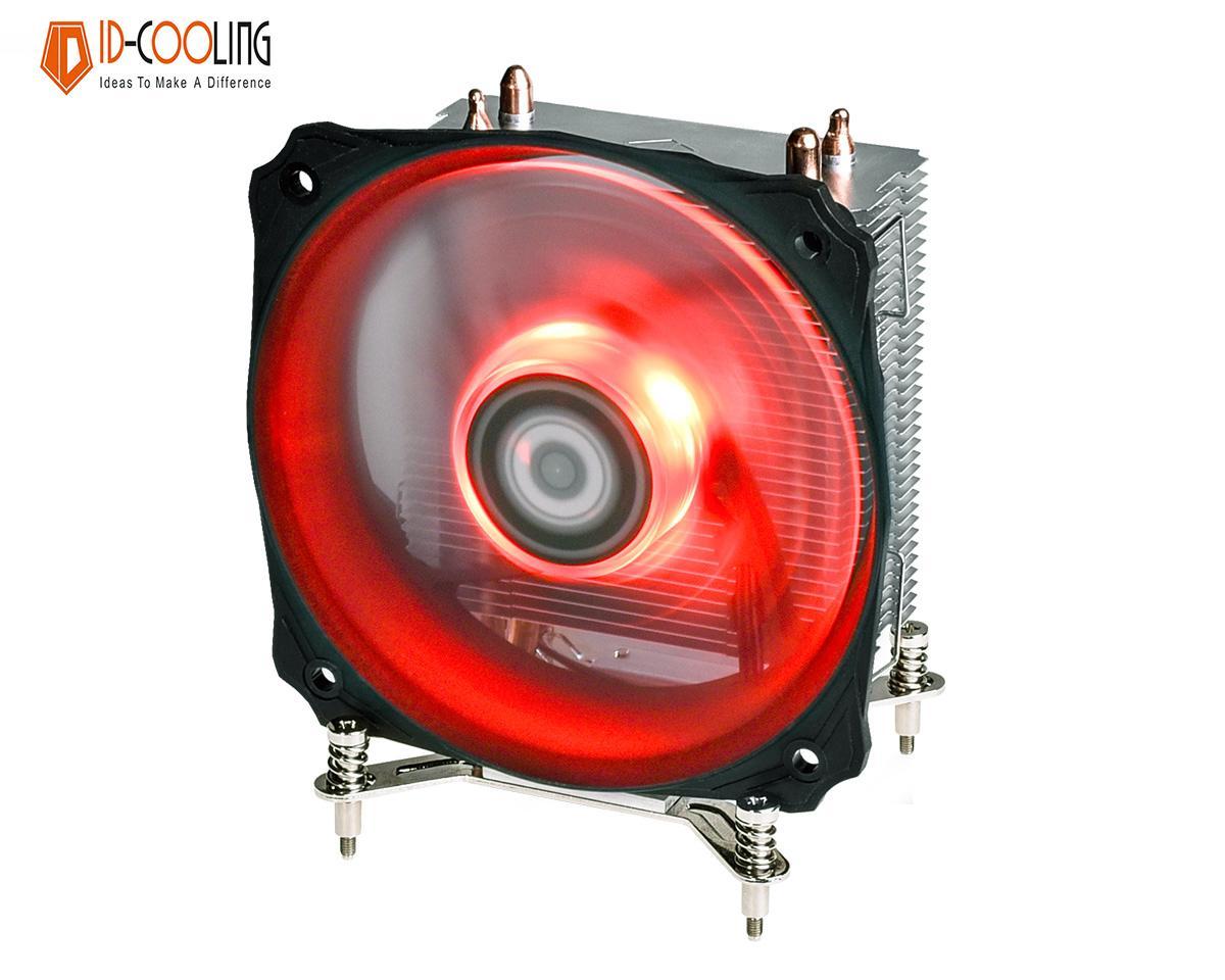 Quạt tản nhiệt cpu ID-Cooling SE-912i (Led đỏ) - Hiệu năng mạnh mẽ, tương thích socket 115x, 1366