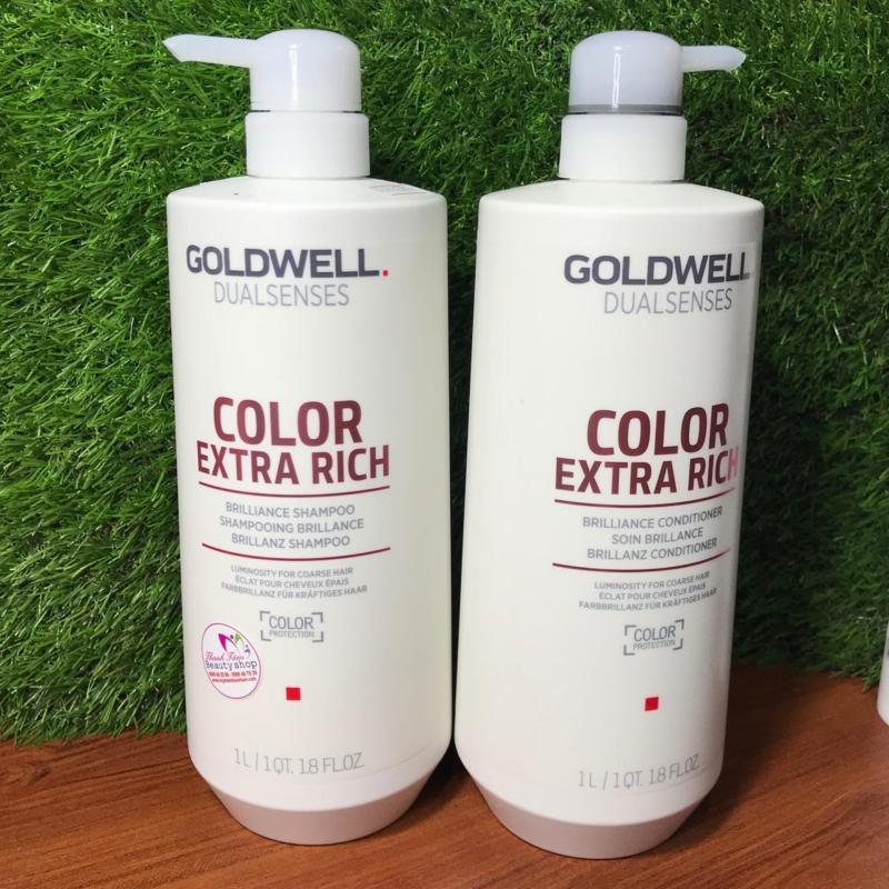 Cặp gội xả giữ màu tóc nhuộm – COMBO GOLDWELL DUALSENSES COLOR BRILLIANCE 1000ML cao cấp