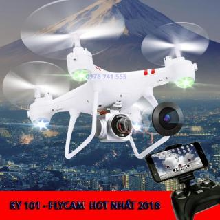 Flycam giá rẻ, camera flycam, may bay dieu khien - Máy bay Flycam KY101 cao cấp, kết nối Wifi với điện thoại, Bảo Hành uy tín 1 Đổi 1 thumbnail