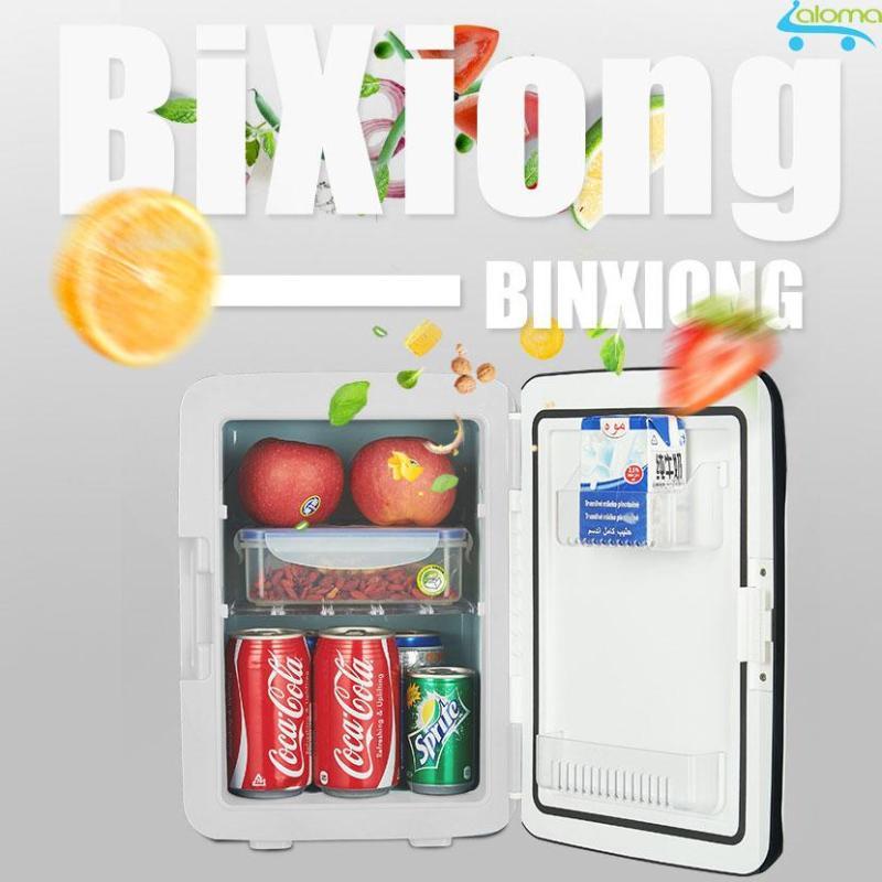 Tủ lạnh mini 2 chế độ nóng lạnh 10 lít MarryCar MR-TL10L cho gia đình và ô tô