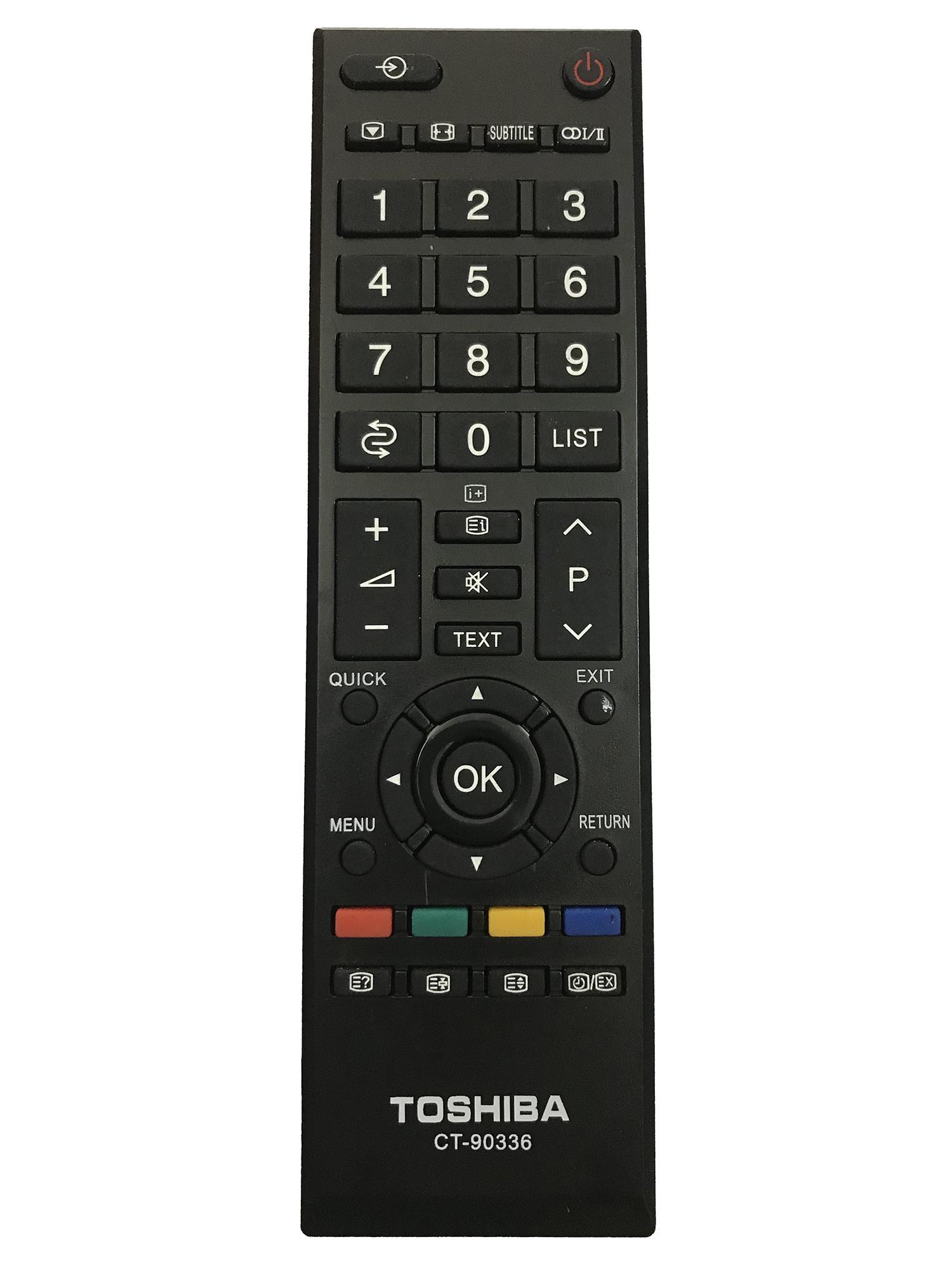 Bảng giá Điều khiển tivi toshiba  (màu đen)