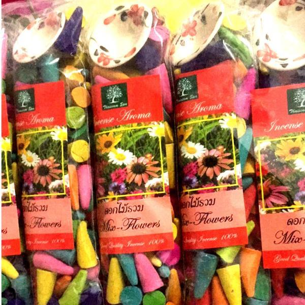 Trầm nụ Thái Lan-trầm hương xông phòng
