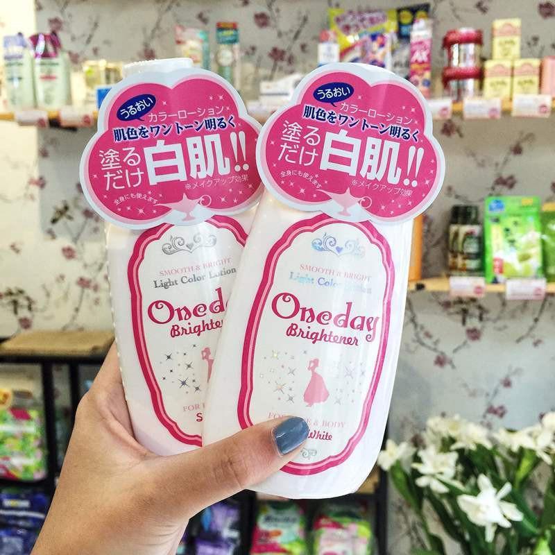 Lotion dưỡng trắng da Oneday Brightener Nhật Bản 120ml