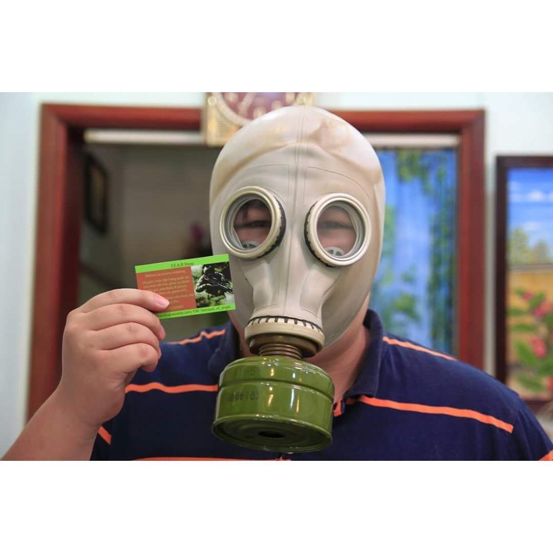 Mặt nạ chống khói độc, khí độc và thoát hiểm Hàng Liên Xô