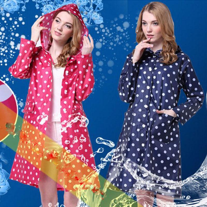Áo mưa thời trang mẫu 3