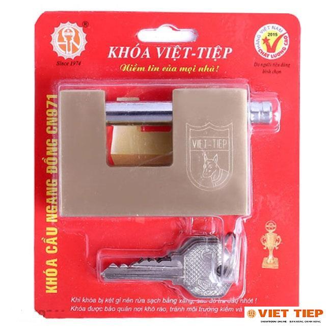 Ổ Khóa Cửa Việt Tiệp Cầu Ngang Đồng 971