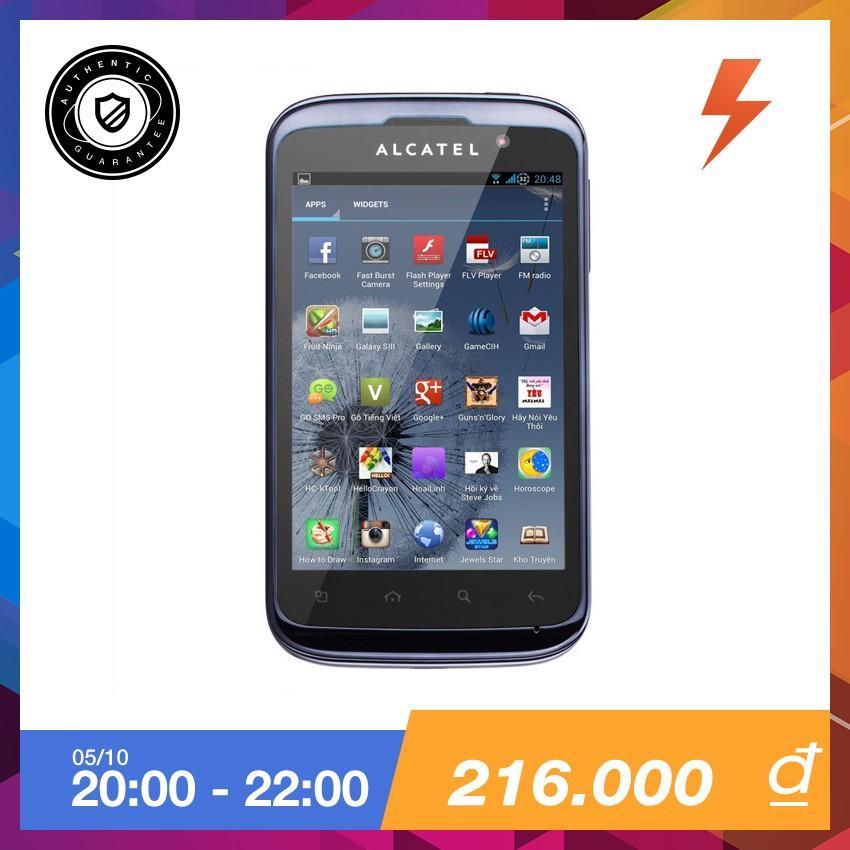 Ôn Tập Alcatel One Touch 991D Xam Bạc