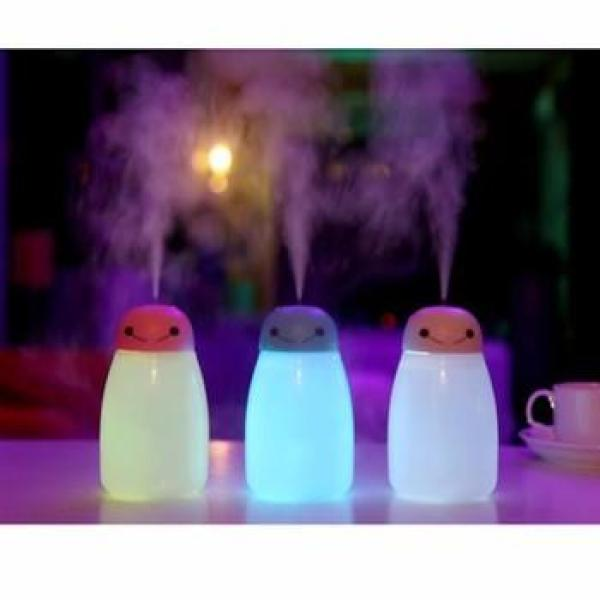 Đèn phun sương tạo độ ẩm Kiêm đèn ngủ 7 màu