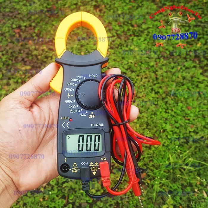 Đồng hồ đo Ampe kìm DT3266L