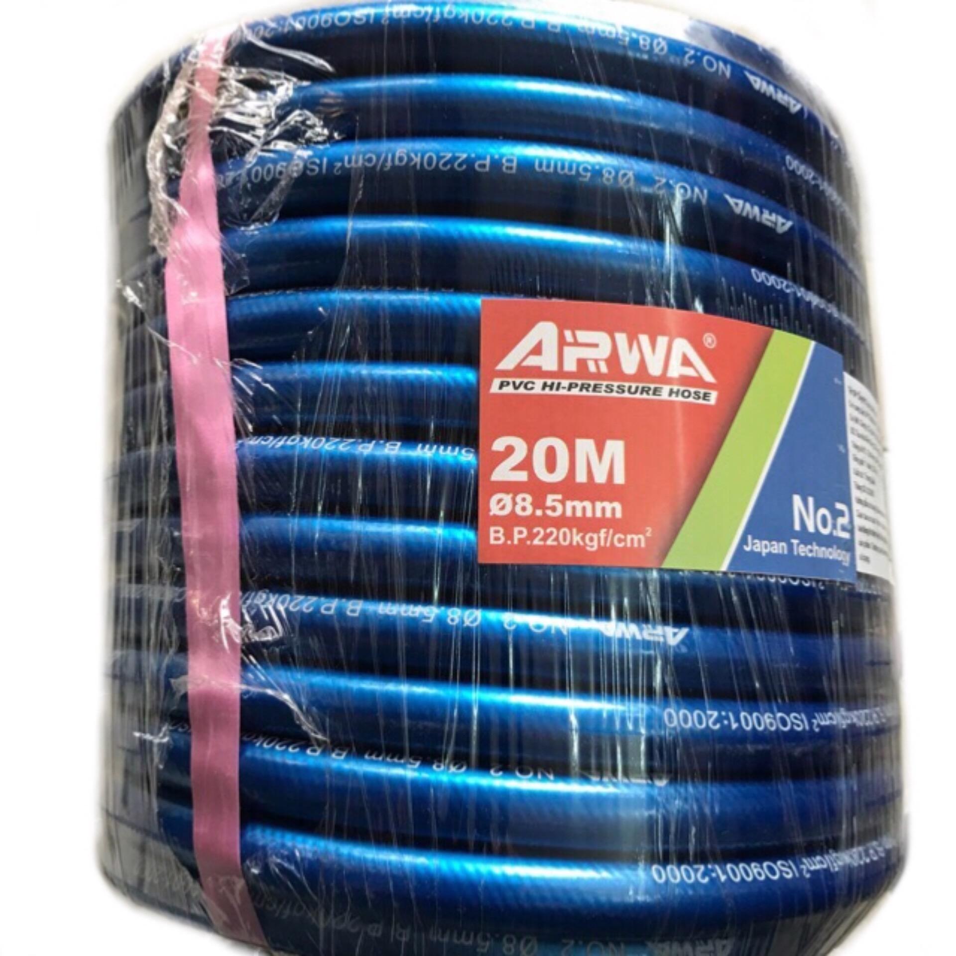 Dây xịt rửa xe áp lực ARWA 20m / lắp đầu rửa kéo dây curoa