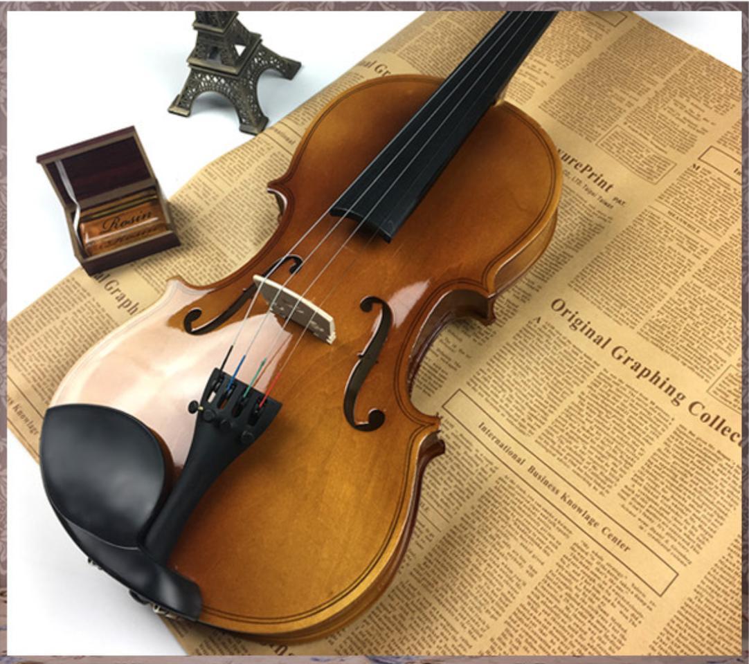 Đàn Violin ( Vĩ Cầm ) Cao Cấp Size 4/4 Gỗ Bóng (full Phụ Kiện ) - HÀNG CÓ SẴN Duy Nhất Khuyến Mại Hôm Nay