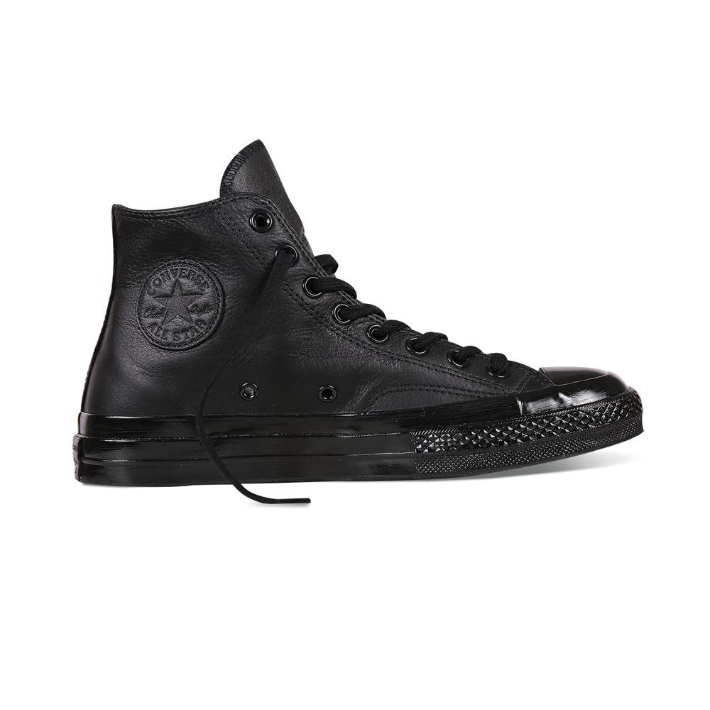 Giá Bán Chuck Taylor All Star 1970S Black Mono Leather 155454 Hi Top Nguyên Converse