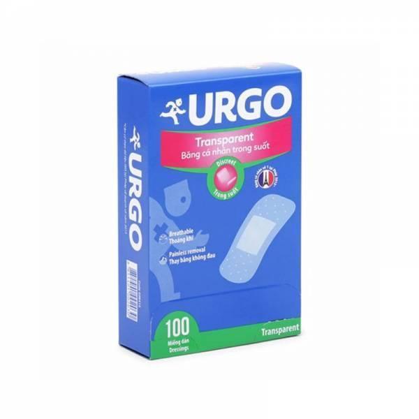 Băng keo cá nhân trong suốt Urgo Transparent, 100 miếng, Pháp nhập khẩu