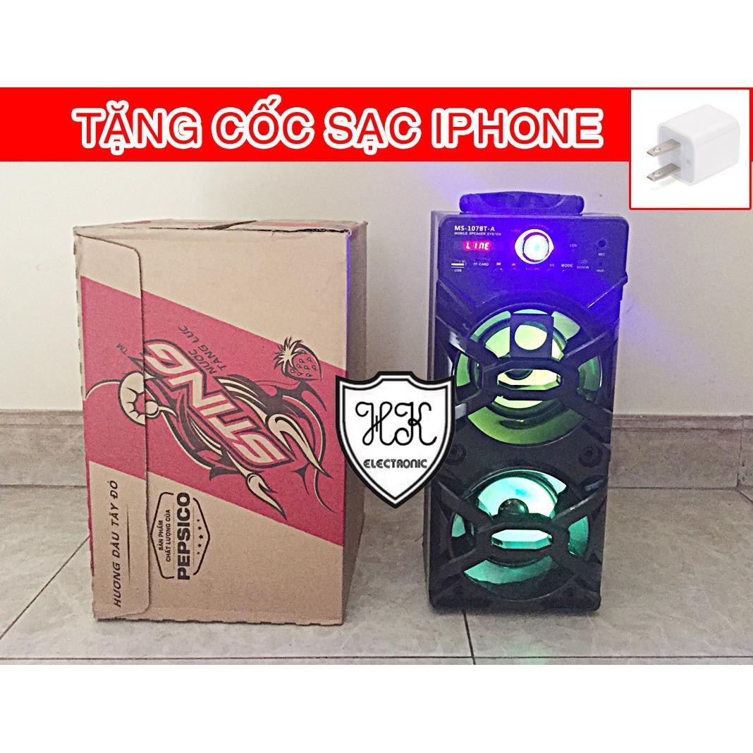 Giá Bán Loa Gỗ Bluetooth Xach Tay Ms 107Bt 20W Hang Nhập Khẩu Bluetooth