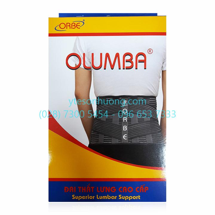 Đai cột sống Orbe Olumba M