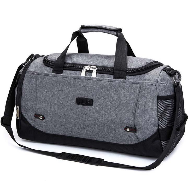 Túi du lịch vải cao cấp thời trang Hàn Quốc siêu bền DL01 có ngăn chứa hành lí rộng