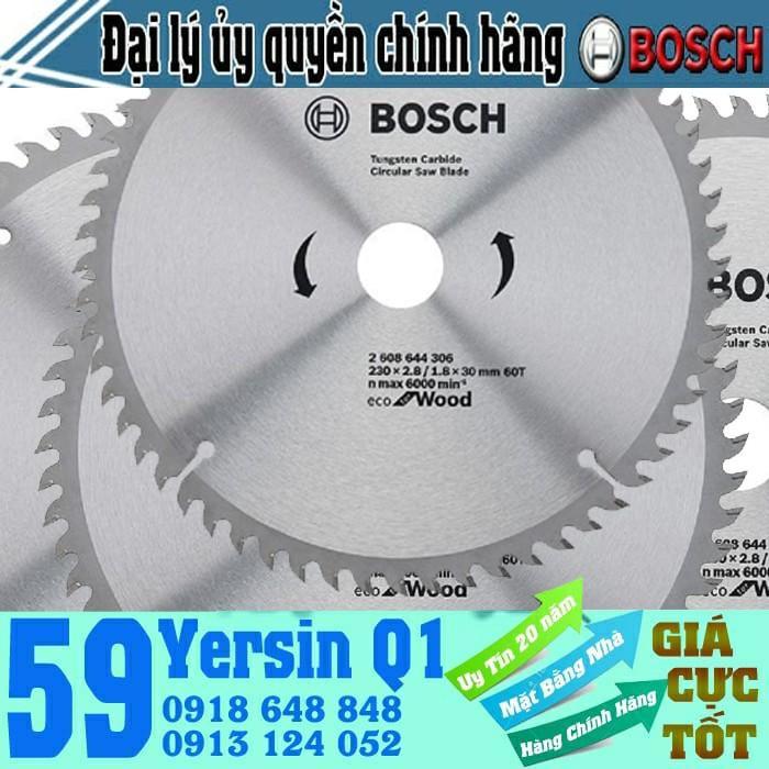 Lưỡi cưa gỗ dân dụng Bosch 250x25.4mm T60 - 2608644309