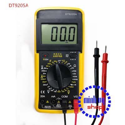 Đồng hồ đo vạn năng DT9205A kèm pin