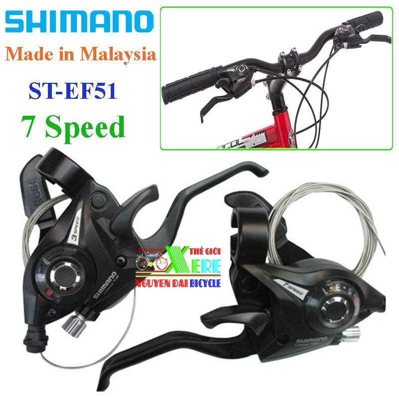 Mua Bộ tay đề bấm xả 7 Speed Shimano ST-EF51