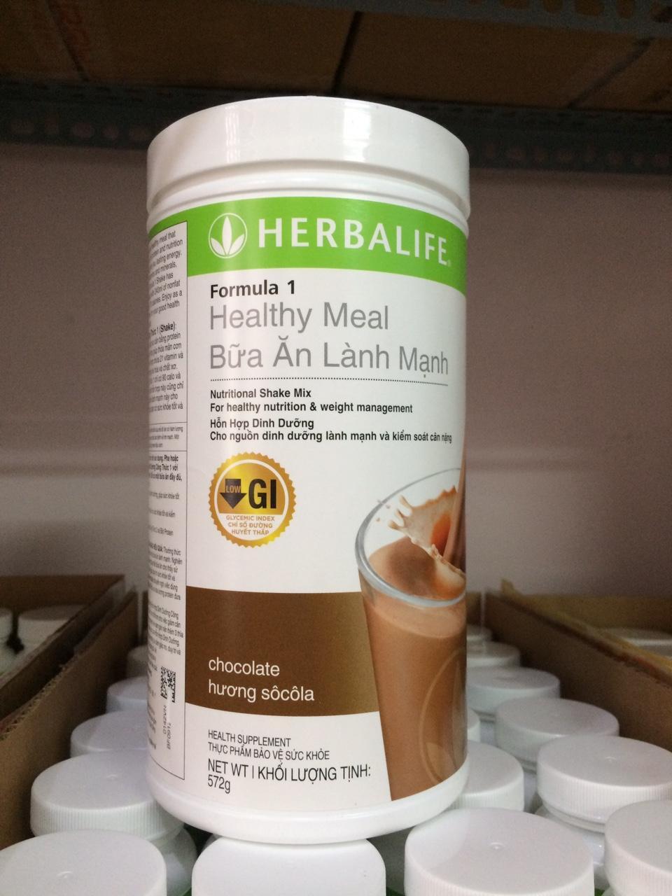 Hình ảnh Hỗn hợp dinh dưỡng công thức 1 Herbalife - Hương Socola (Sữa Herbalife F1)
